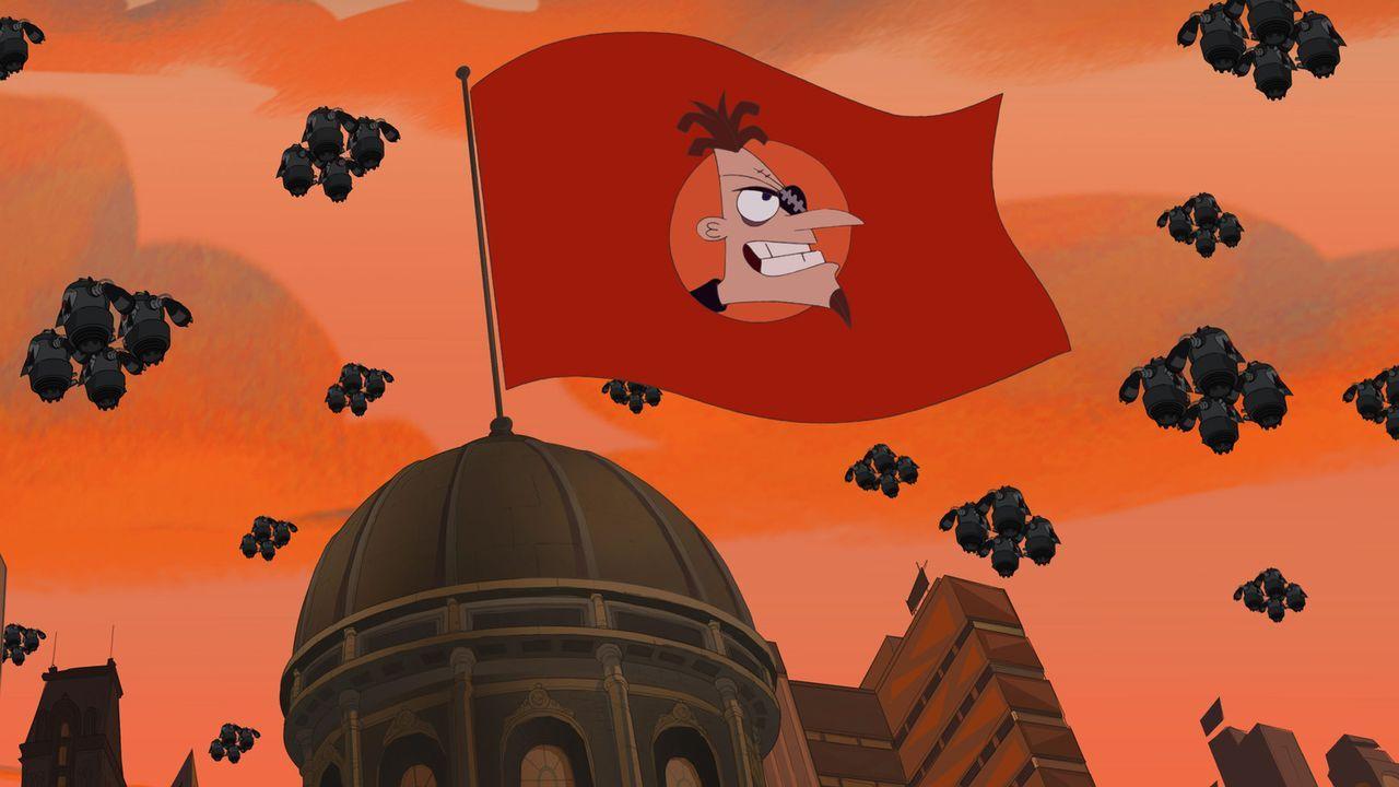 Dr. Heinz Doofenschmirtz hat nur ein einziges Ziel: die Macht über die Tri-State-Area an sich zu reißen ... - Bildquelle: Disney