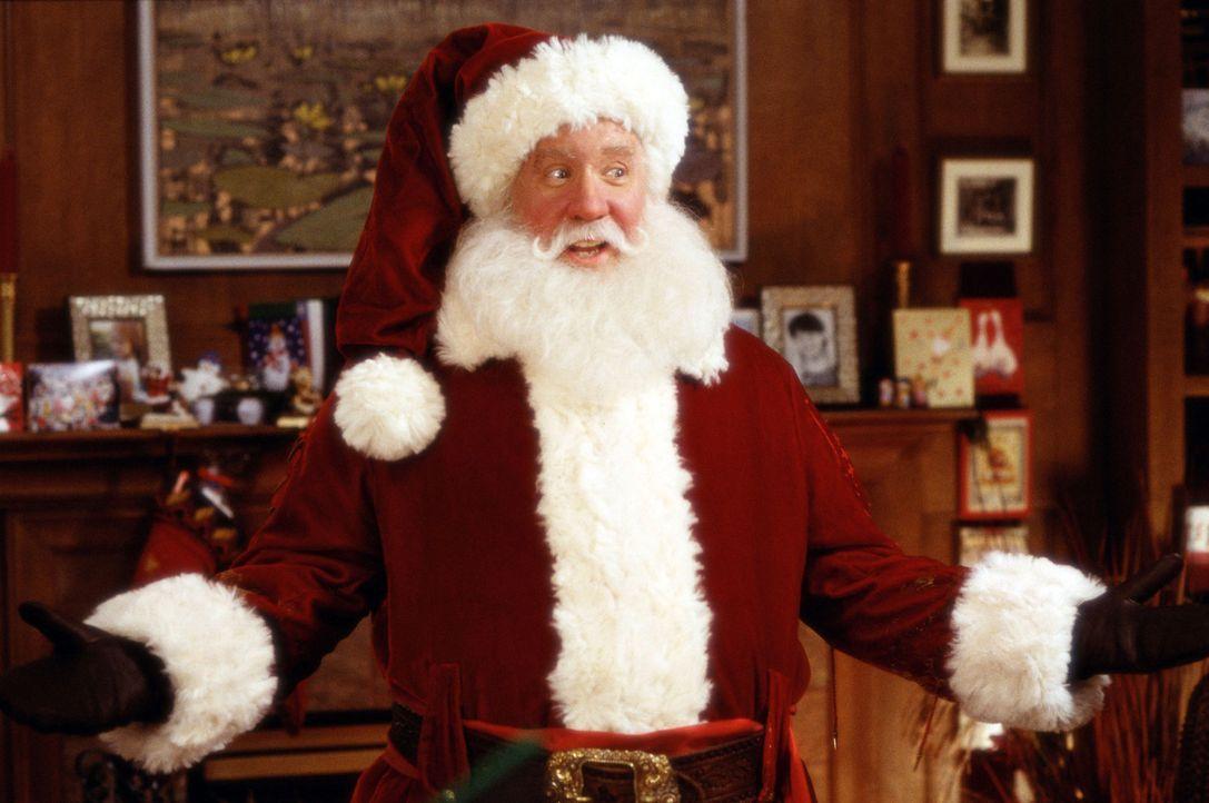 Seit der Weihnachtsmann vor acht Jahren tödlich verunglückt ist, macht Scott Calvin (Tim Allen) den Job. Doch dieses Jahr überschlagen sich die E... - Bildquelle: Walt Disney Pictures