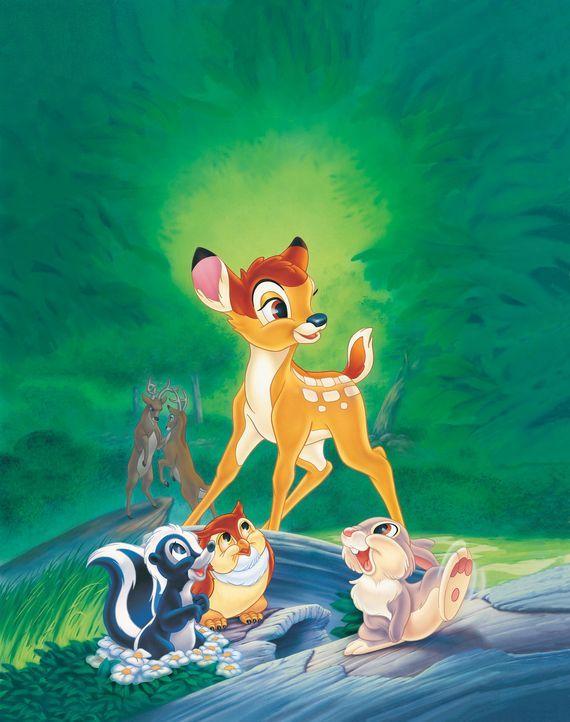 Bambi und seine Freunde erleben viele aufregende Abenteuer ... - Bildquelle: Disney