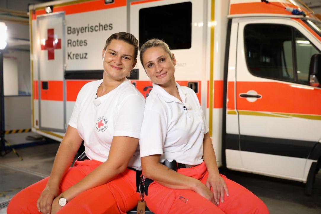 Andrea (l.); Sandra (r.) - Bildquelle: Jens Hartmann SAT.1 / Jens Hartmann