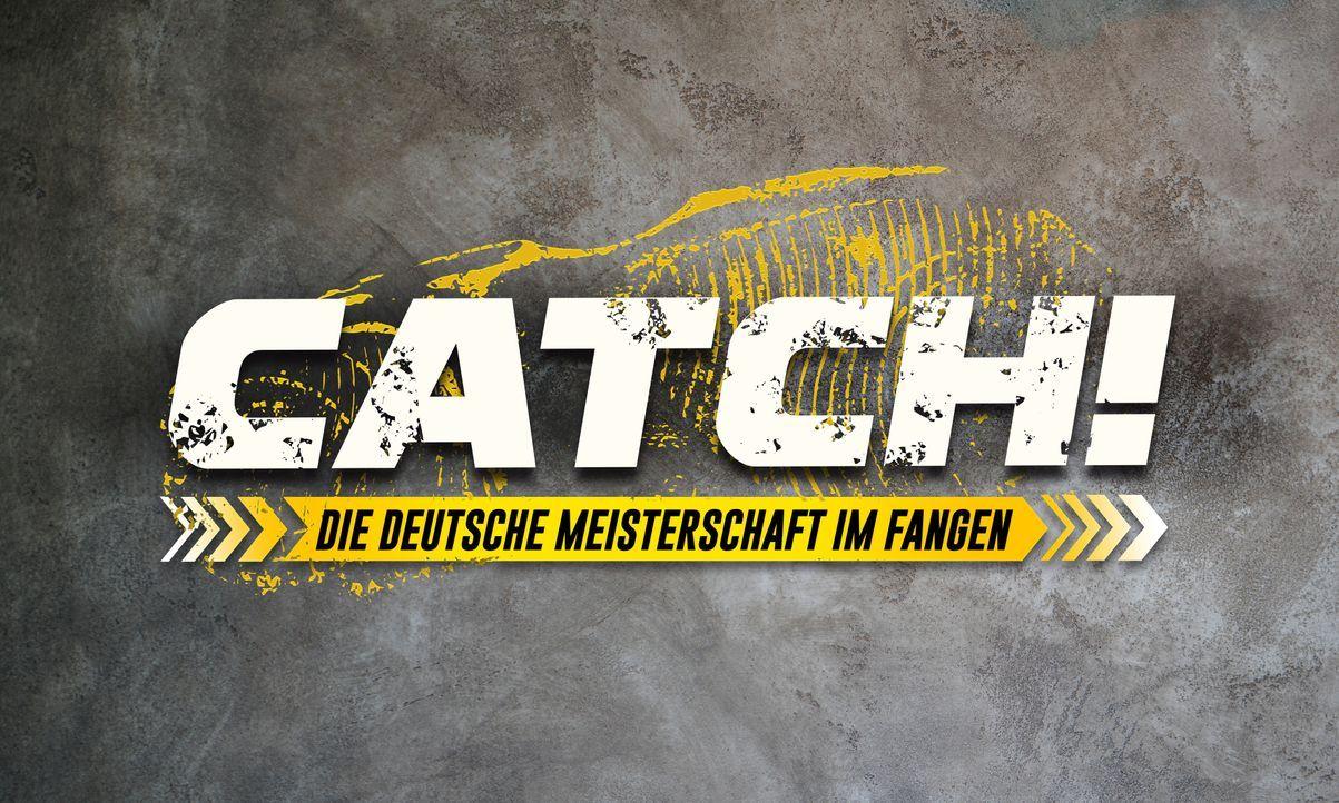 CATCH! Die Deutsche Meisterschaft im Fangen 2021 - Logo - Bildquelle: SAT.1