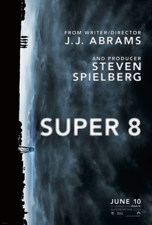Super 8 - Plakatmotiv - Bildquelle: PARAMOUNT PICTURES. All Rights Reserved