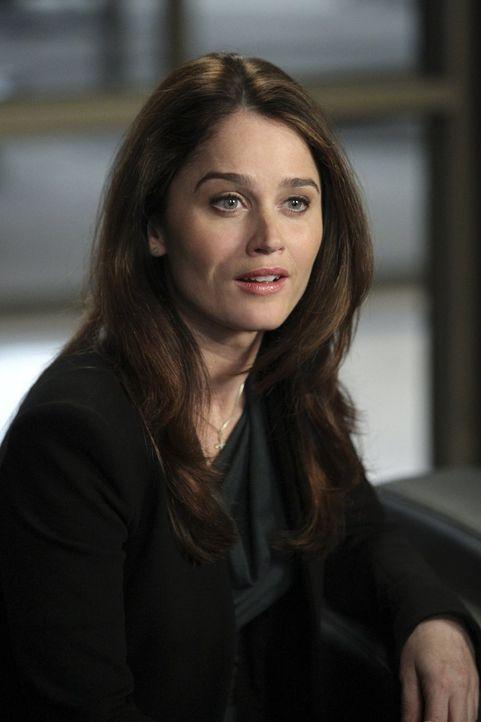 Blickt voller Optimismus in die Zukunft: Teresa Lisbon (Robin Tunney) ... - Bildquelle: Warner Bros. Television