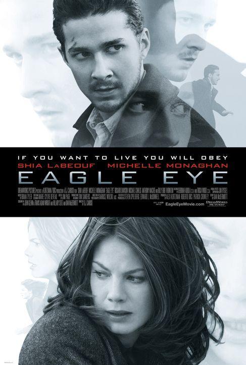 EAGLE EYE - AUSSER KONTROLLE - Plakatmotiv - Bildquelle: Paramount Pictures International