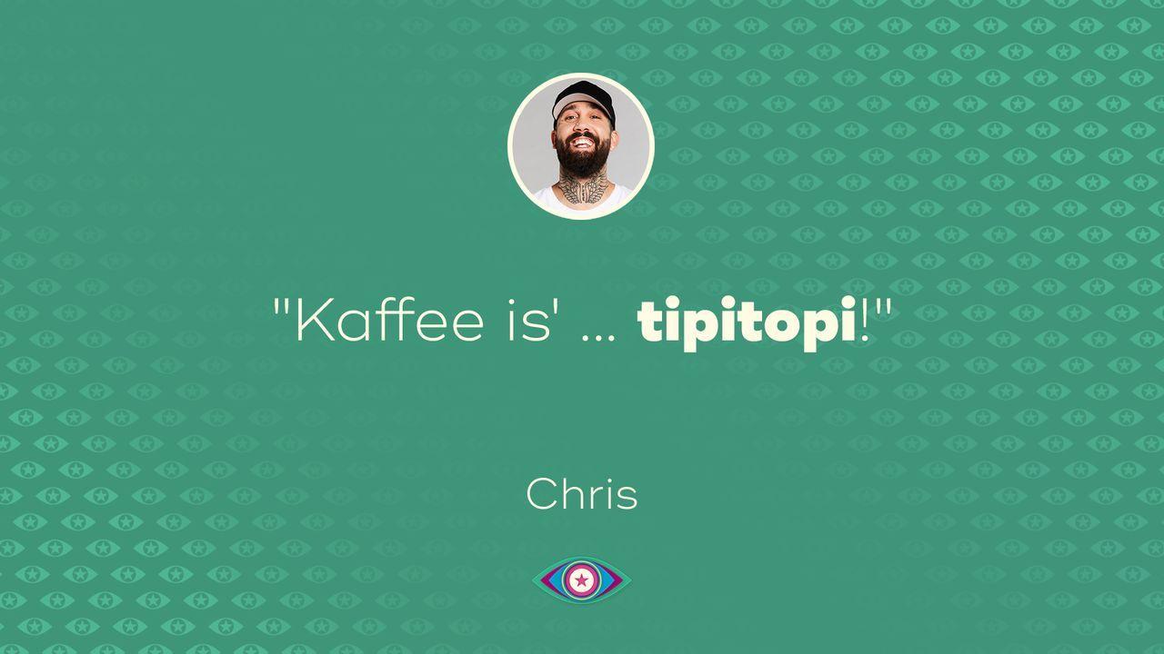 Tag 5: Chris Kaffee - Bildquelle: SAT.1