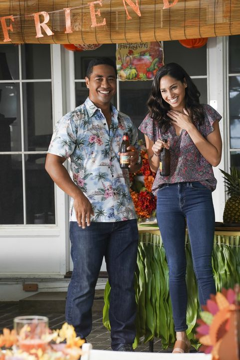 Junior Reigns (Beulah Koale, l.); Tani Rey (Meaghan Rath, r.) - Bildquelle: Karen Neal 2019 CBS Broadcasting, Inc. All Rights Reserved. / Karen Neal