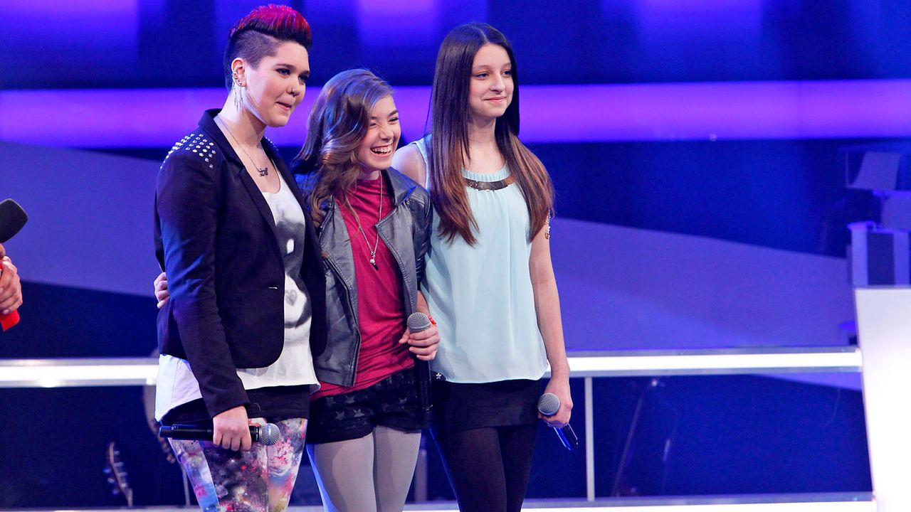 The-Voice-Kids-epi04-Luisa-Stephanie-Alexandra-22-SAT1-Richard-Huebner - Bildquelle: SAT.1/Richard Hübner