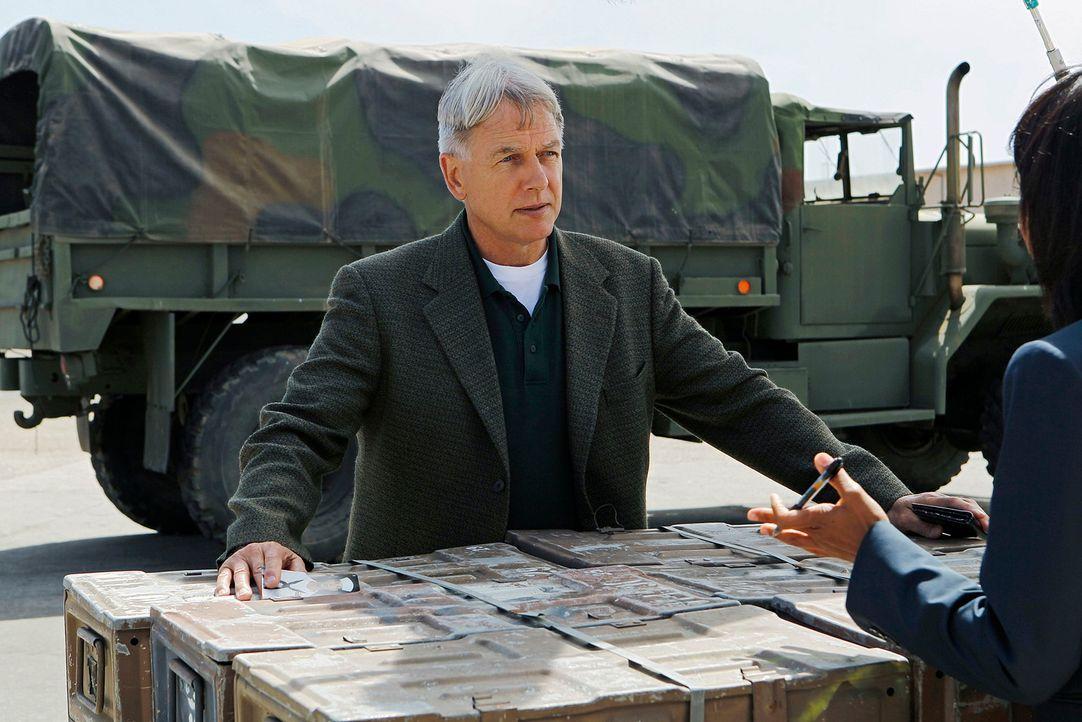 Ermittelt in einem neuen Mordfall: Gibbs (Mark Harmon) ... - Bildquelle: CBS Television