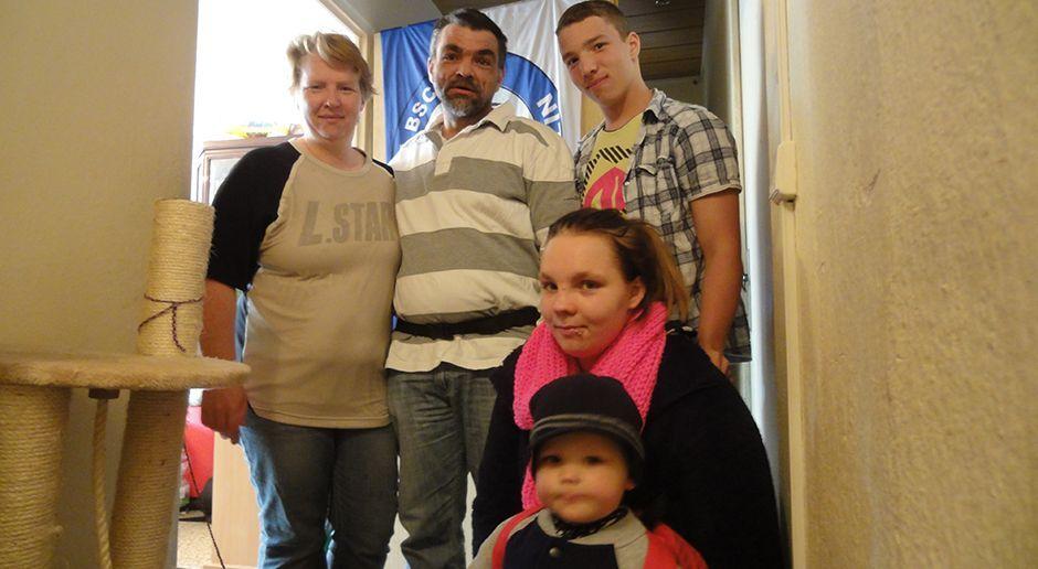 Eltern Hadrich-Ruder mit Paul und Michelle und Enkel