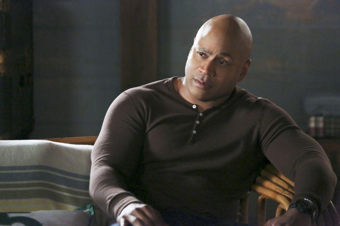 Während Deeks ein schweres Trauma erlitten hat und noch nicht sicher ist, ob er den Dienst wieder antreten kann, scheint es, als hätte Sam (LL Cool... - Bildquelle: CBS Studios Inc. All Rights Reserved.