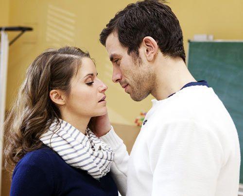 Kommen sich näher: Bea und Michael. - Bildquelle: David Saretzki - Sat1