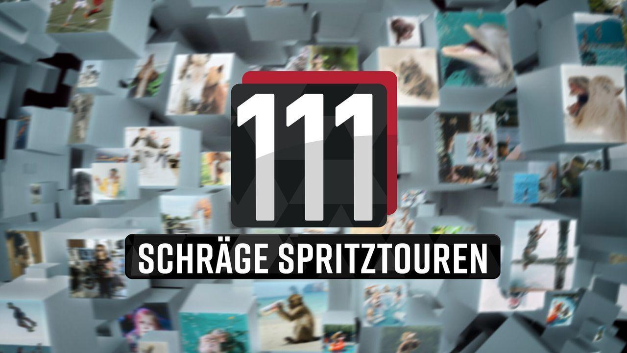 111 schräge Spritztouren! - Logo - Bildquelle: SAT.1