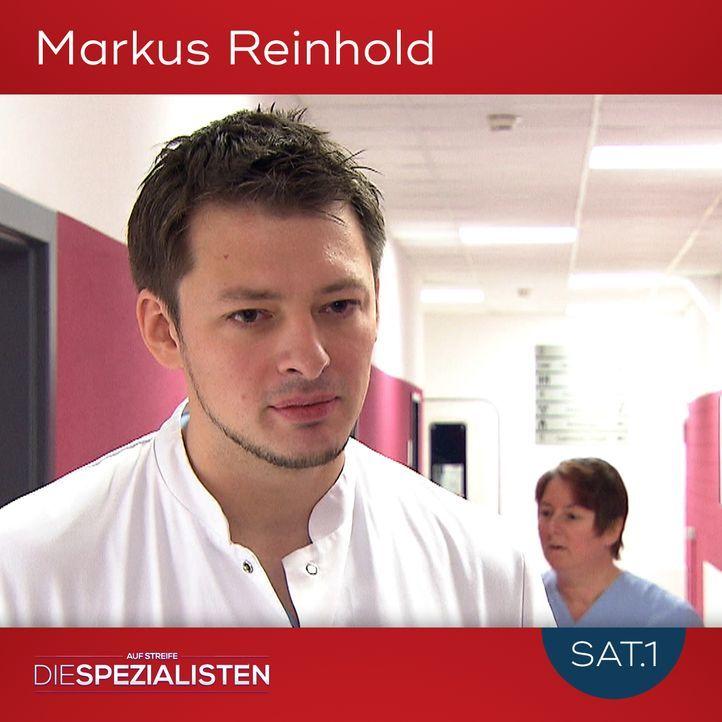 Markus Reinhold - Bildquelle: SAT.1