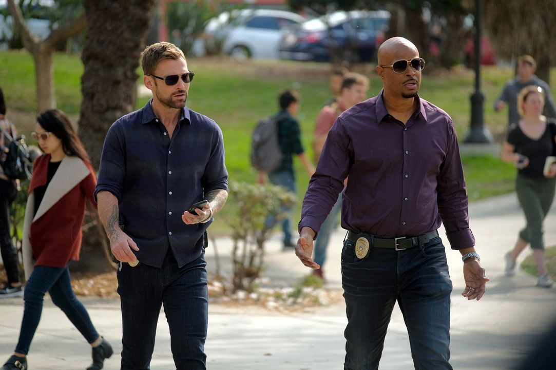 Wesley Cole (Seann William Scott, l.); Roger Murtaugh (Damon Wayans, r.) - Bildquelle: Darren Michaels 2019 Warner Bros. Entertainment Inc. All Rights Reserved.
