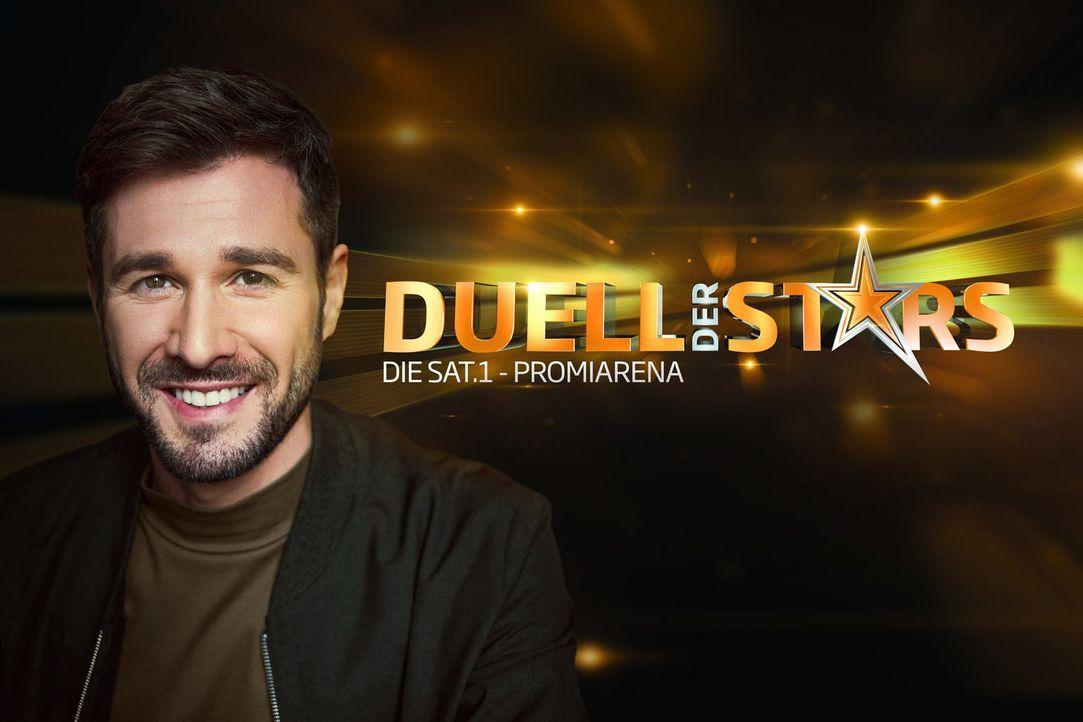 """Moderiert die Game-Show """"Duell der Stars - Die SAT.1-Promiarena"""": Jochen Schropp - Bildquelle: Arne Weychardt SAT.1"""
