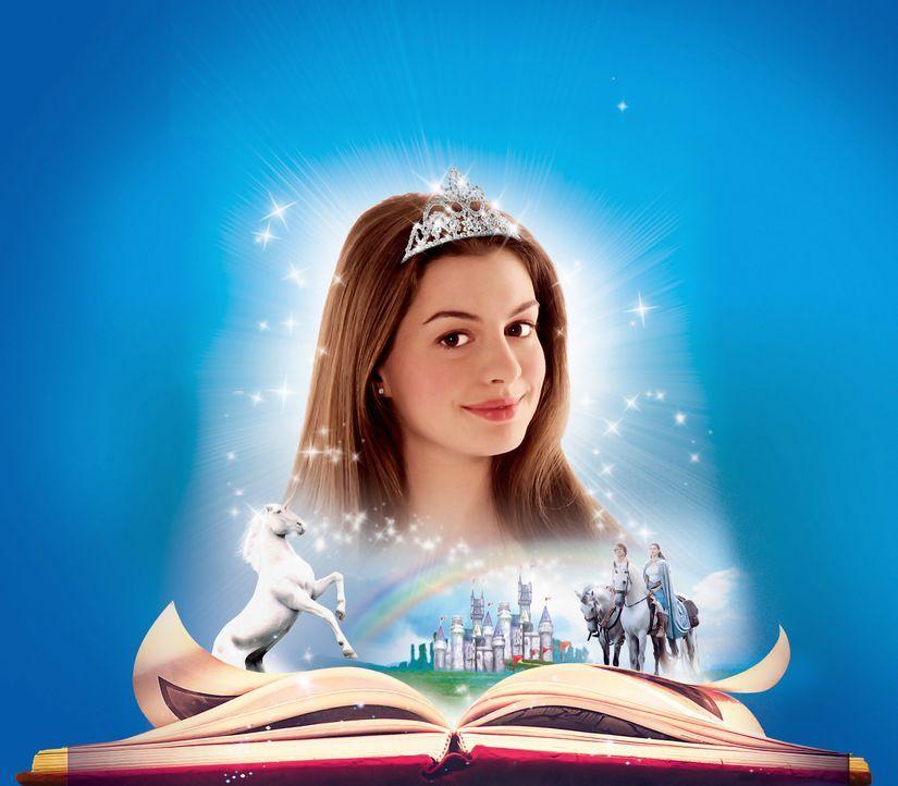 Als Baby wurde Ella (Anne Hathaway) von ihrer Patin, der Fee Lucinda, mit einem Zauber belegt, der sich im Teenageralter zunehmend als Fluch erweist... - Bildquelle: Miramax Films. All rights reserved