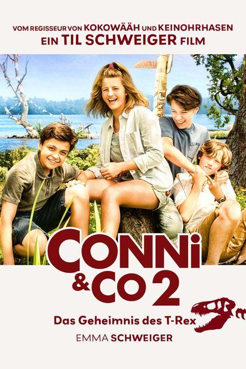 Conni & Co 2 - Das Geheimnis des T-Rex - Plakatmotiv - Bildquelle: 2017 Producers at Work Film GmbH / barefoot films GmbH / Warner Bros. Entertainment GmbH. All rights reserved.