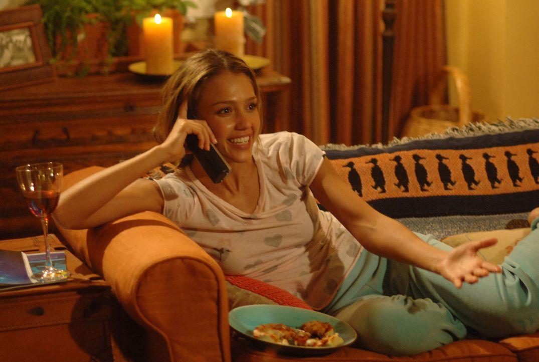 Erobert Charlies Herz im Sturm: die tollpatschige Cam (Jessica Alba) ... - Bildquelle: 2007 Lions Gate Films, Inc. All Rights Reserved.
