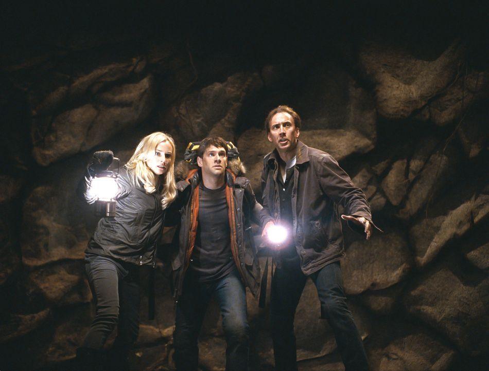 Ein eingespieltes Team: (v.l.n.r.) Abigail (Diane Kruger), Riley (Justin Bartha), Benjamin (Nicolas Cage) ... - Bildquelle: Disney Enterprises, Inc.  All rights reserved.