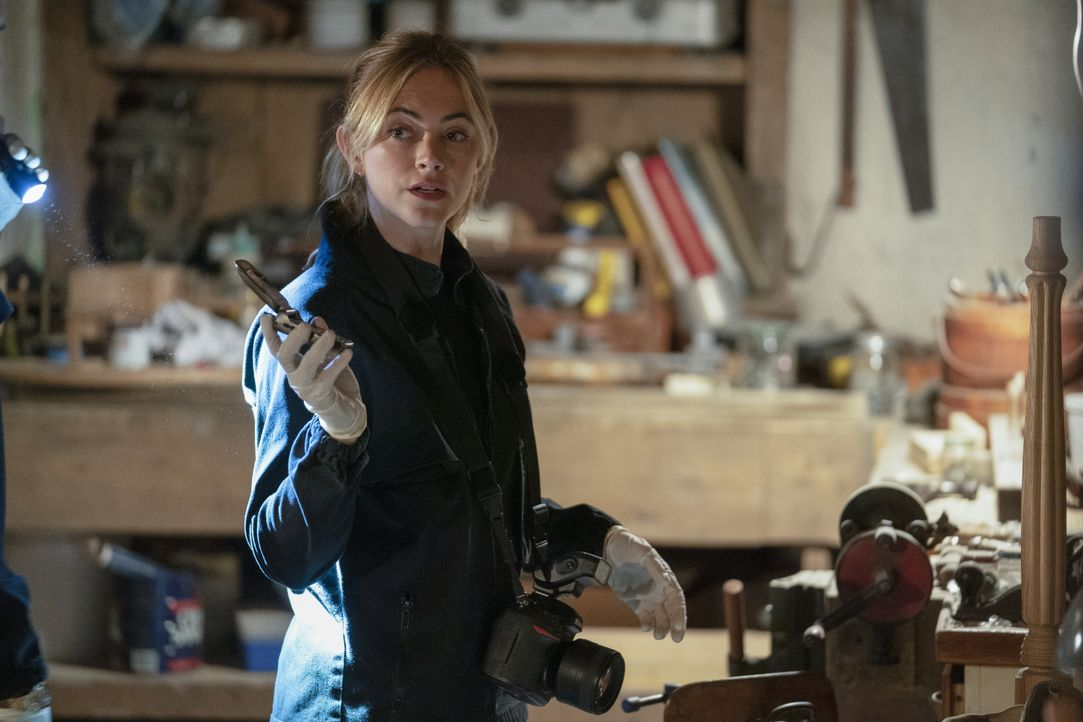 Ellie Bishop (Emily Wickersham) - Bildquelle: Erik Voake 2019 CBS Broadcasting, Inc. All Rights Reserved / Erik Voake