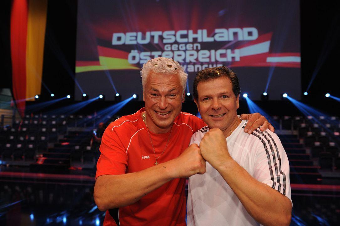 Revanche für die Deutschen - reicht es diesmal für den Sieg? 2011 musste sich Deutschland im Show-Duell gegen Österreich noch knapp geschlagen ge... - Bildquelle: Willi Weber SAT.1