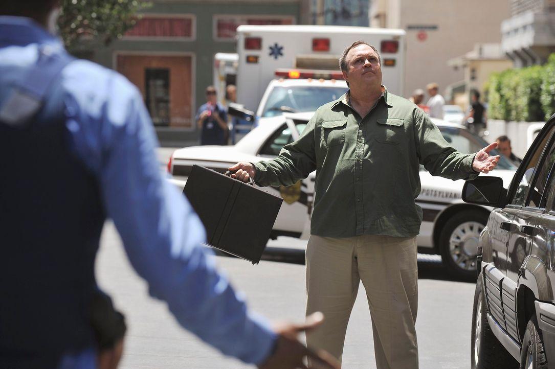 Hat William Meeks (Gary Basaraba) etwas mit dem Bobenanschlag in einer High School in Fredericksburg zu tun? - Bildquelle: ABC Studios