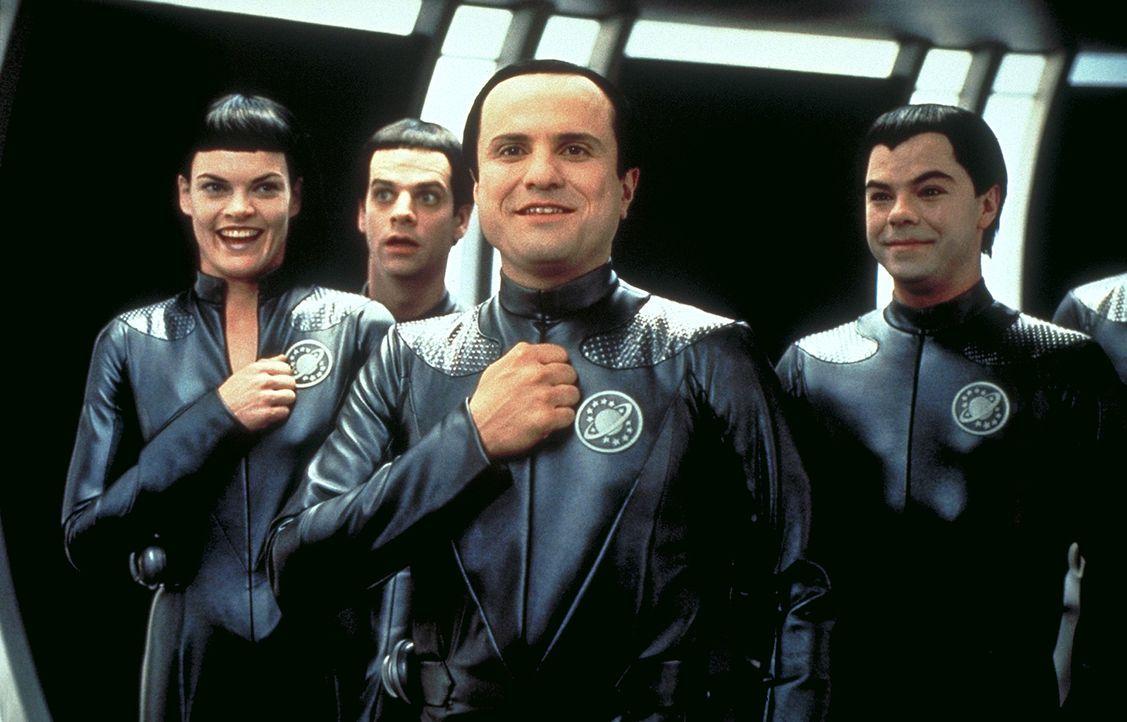 """Die Thermianer, eine außerirdische Rasse vom Planeten Klatu Nebel, glauben, dass es sich bei der Science-Fiction-Serie """"Galaxy Quest"""" um""""Dokumente d... - Bildquelle: DreamWorks Distribution LLC"""