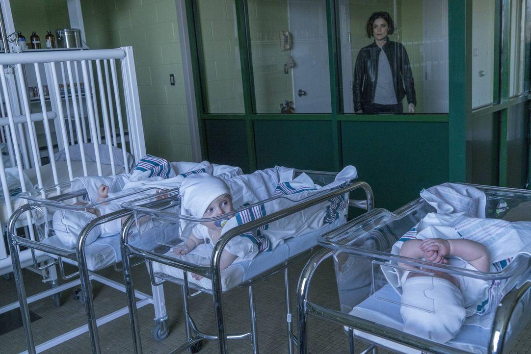 Obwohl beim FBI herausgeschmissen, macht sich Jane (Jaimie Alexander) daran, die Hintermänner des Babydiebstahls aufzutun. Nichtahnend, dass die Gan... - Bildquelle: Warner Brothers
