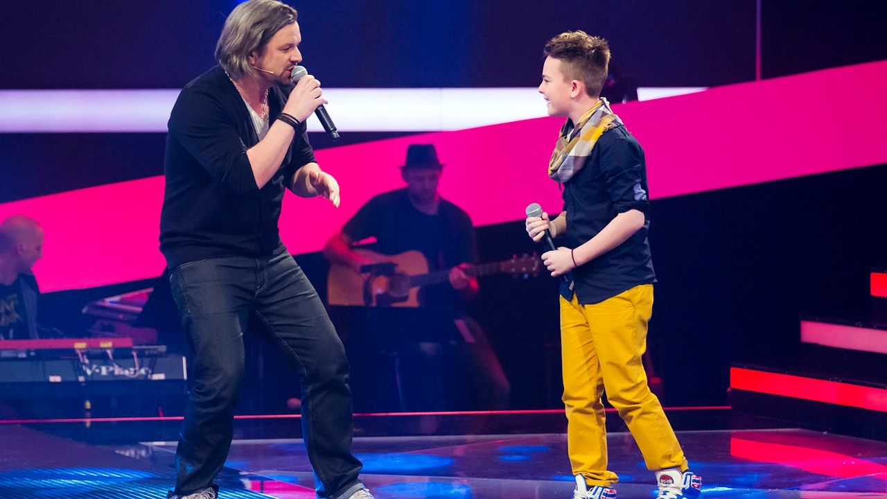 The-Voice-Kids-epi03-danach-Mike-S-2-SAT1-Richard-Huebner - Bildquelle: SAT.1/Richard Hübner