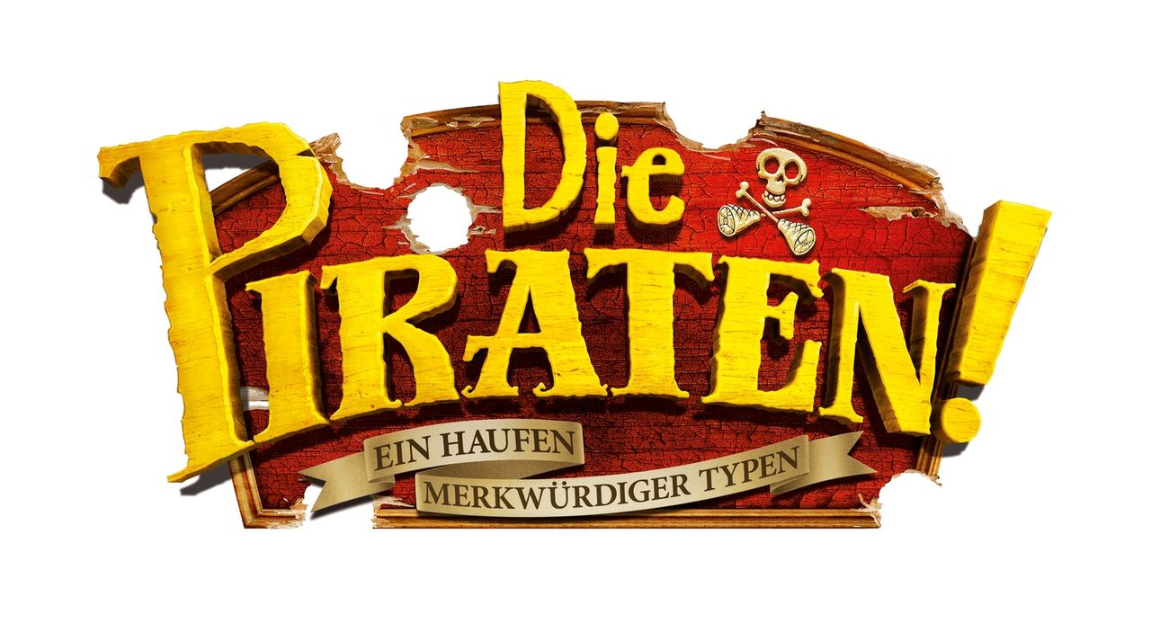 Die Piraten - ein Haufen merkwürdiger Typen - Logo ... - Bildquelle: 2012 Sony Pictures Animation Inc. All Rights Reserved.