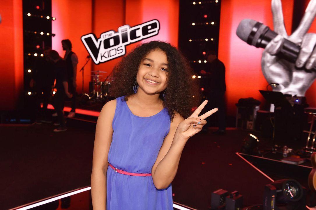 The-Voice-Kids-Stf03-Epi07-TEASER-17-Zoe-SAT1-Andre-Kowalski - Bildquelle: SAT.1/ Andre Kowalski