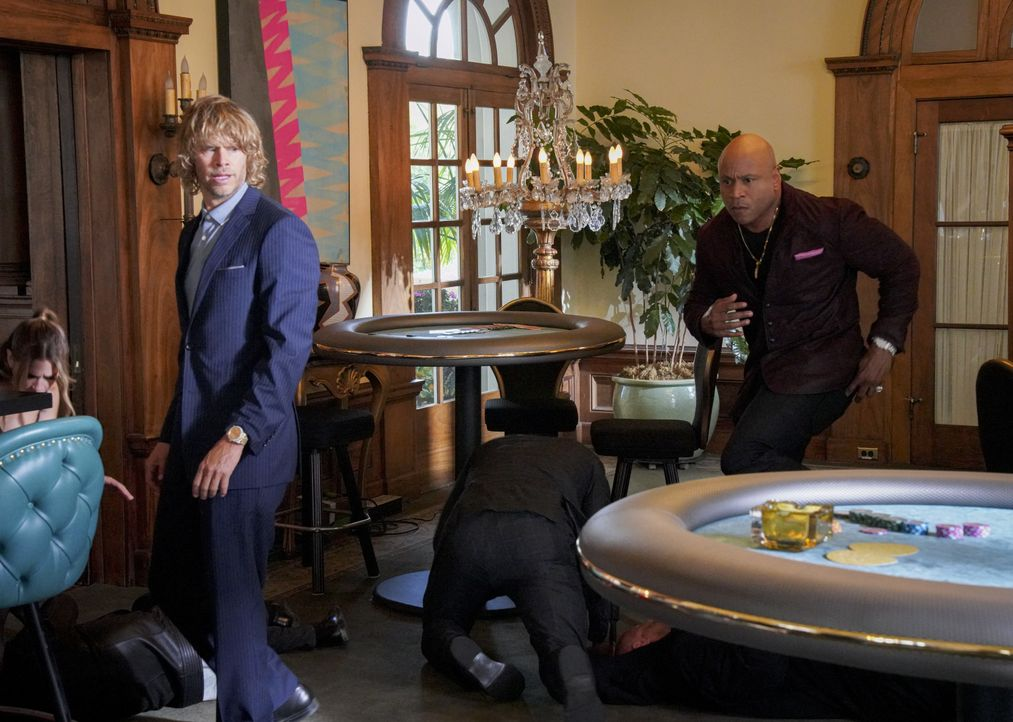 Marty Deeks (Eric Christian Olsen, l.); Sam Hanna (LL Cool J, r.) - Bildquelle: Bill Inoshita 2019 CBS Broadcasting, Inc. All Rights Reserved. / Bill Inoshita