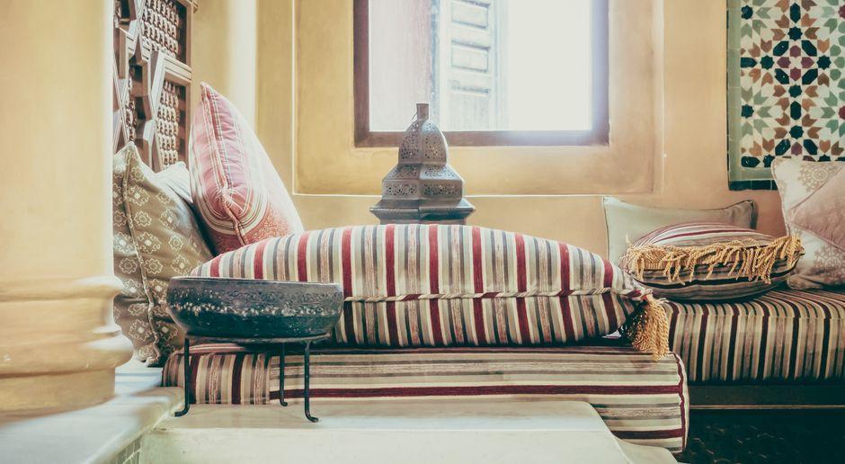 Orientalische Deko: Ideen fürs Wohnzimmer | SAT.1 Ratgeber