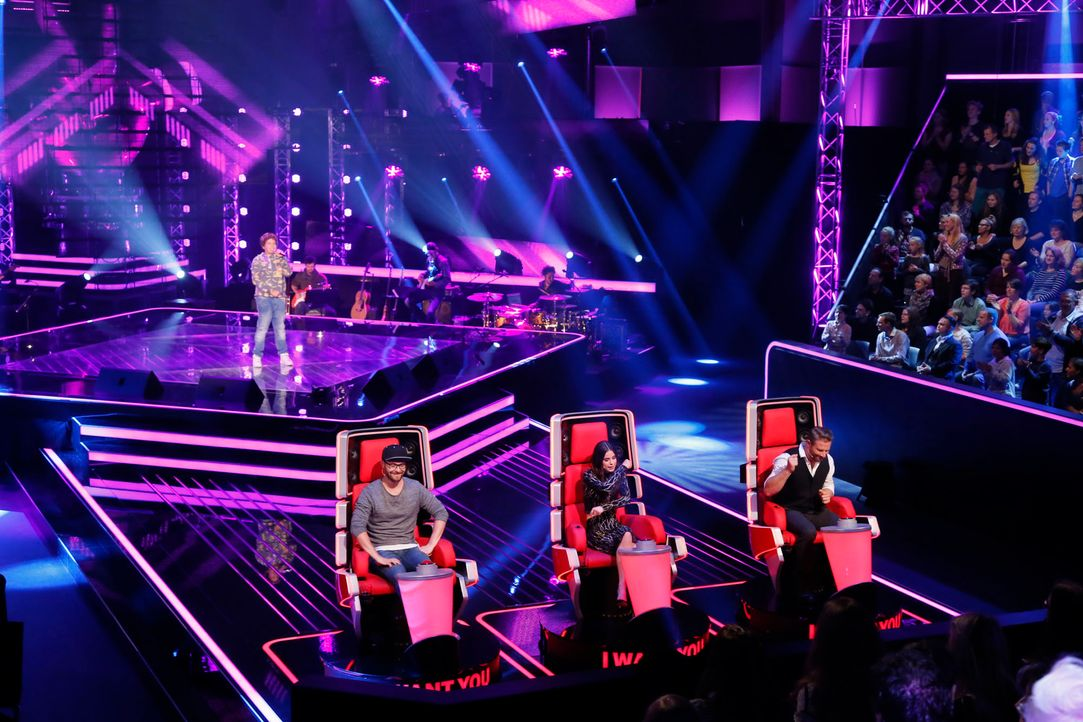 The-Voice-Kids-s04e02-Luca-1-SAT1-Richard-Huebner - Bildquelle: © SAT.1/ Richard Hübner
