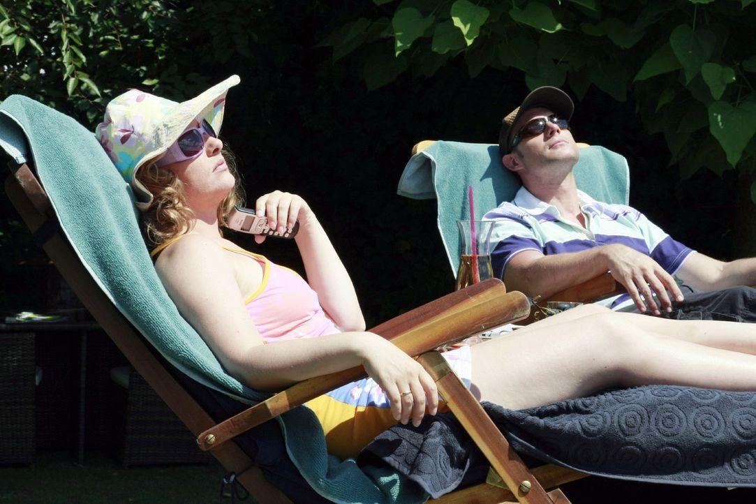 Was gibt es Schöneres als einen entspannten, sonnigen Tag im Garten - einfach mal die Seele baumeln lassen und an nichts denken. Schade nur, wenn di... - Bildquelle: Guido Engels Sat.1