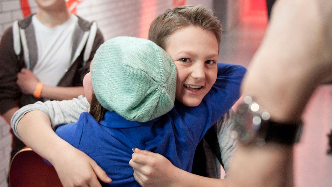 The-Voice-Kids-s01e01-Finn-026 - Bildquelle: SAT.1/Andre Kowalski