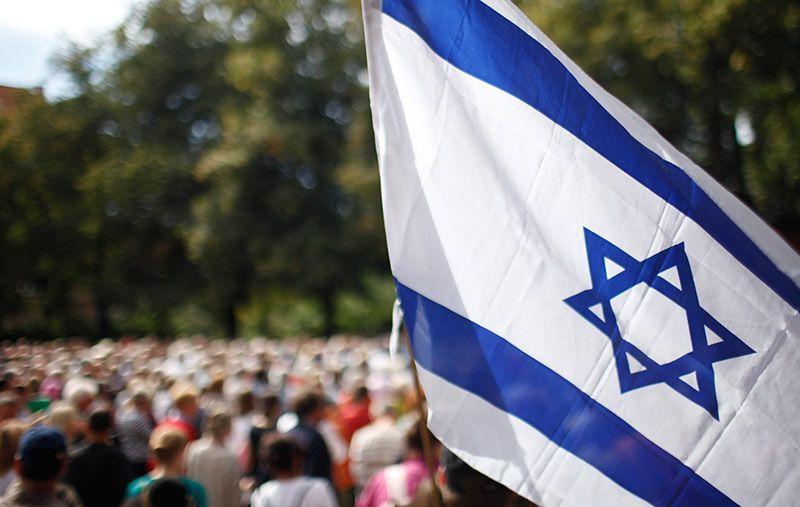 israel-flagge-dpa - Bildquelle: usage Germany only, Verwendung nur in Deutschland