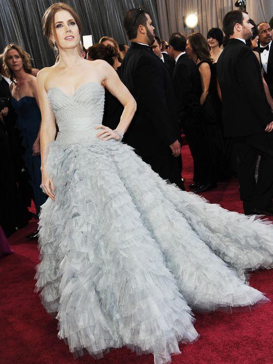 Oscars-Roter-Teppich-130224-amy-adams-AFP - Bildquelle: AFP