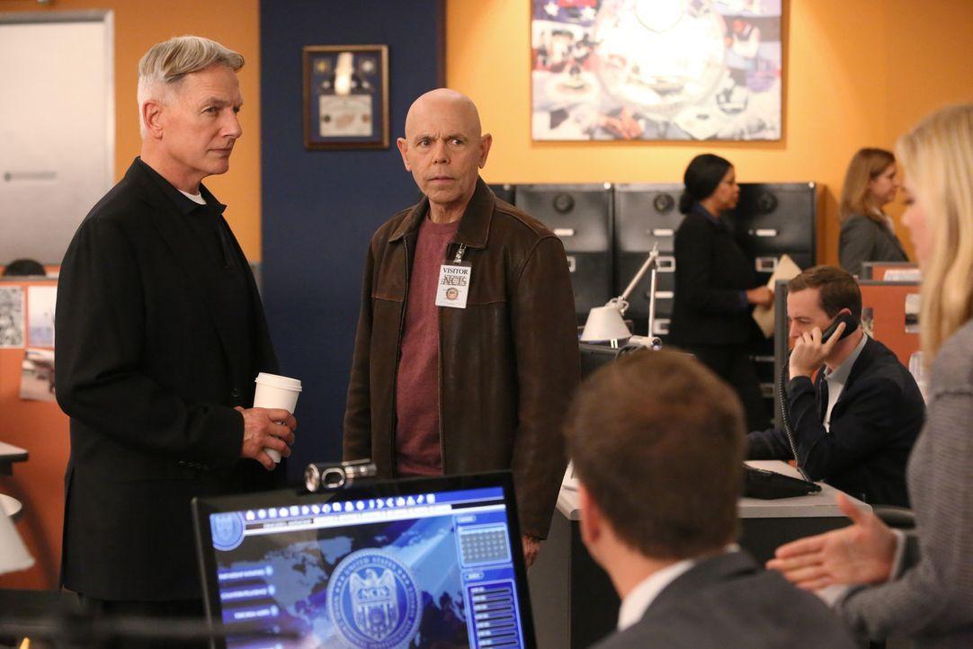Ein neuer Fall beschäftigt Gibbs (Mark Harmon, l.), Fornell (Joe Spano, 2.v.l.), Bishop (Emily Wickersham, r.) und Tony (Michael Weatherly, 3.v.l.)... - Bildquelle: CBS Television