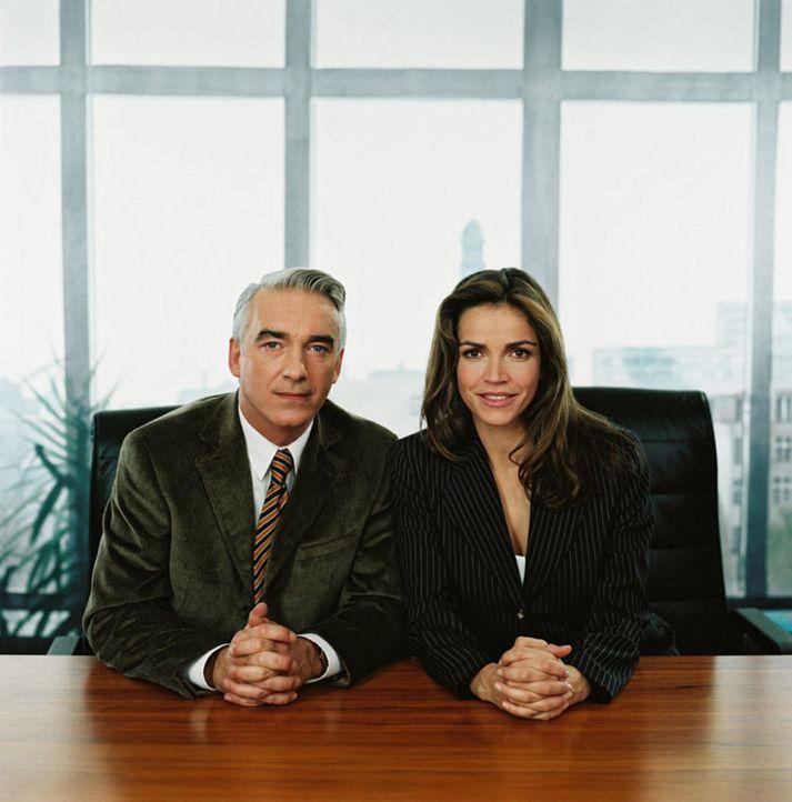 Christoph M. Ohrt und Rebecca Immanuel - Bildquelle: Sat.1