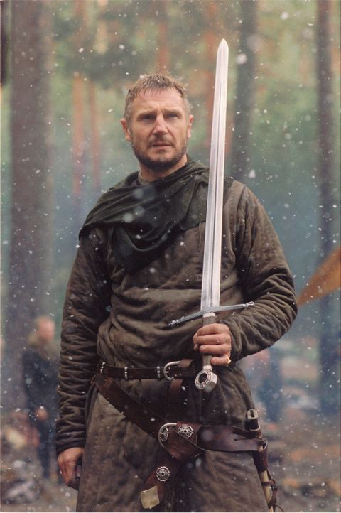 Ahnt nicht, dass die gemeinsame Reise mit seinem Sohn Balian deutlich kürzer ausfällt, als geplant: Godfrey (Liam Neeson) ... - Bildquelle: David Appleby 2015 Fox and its related entities. All rights reserved.