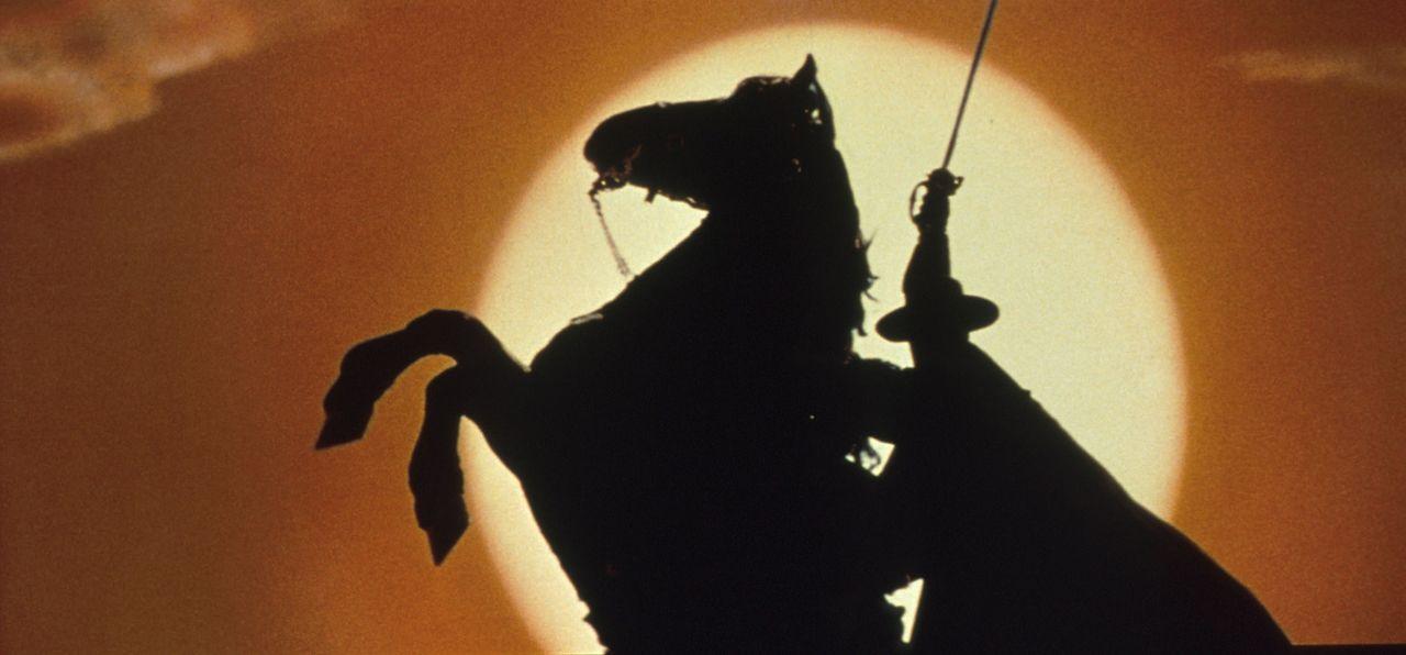 Der Rächer der Unterdrückten: Zorro (Antonio Banderas) - Bildquelle: Columbia Pictures