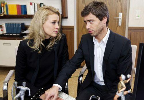 Halten zusammen: Julian und Alexandra ... - Bildquelle: David Saretzki - Sat1