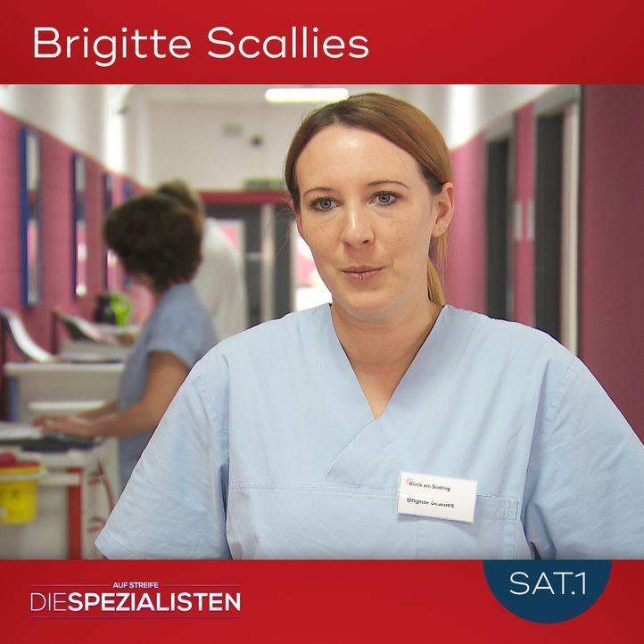 Brigitte Scallies - Bildquelle: SAT.1