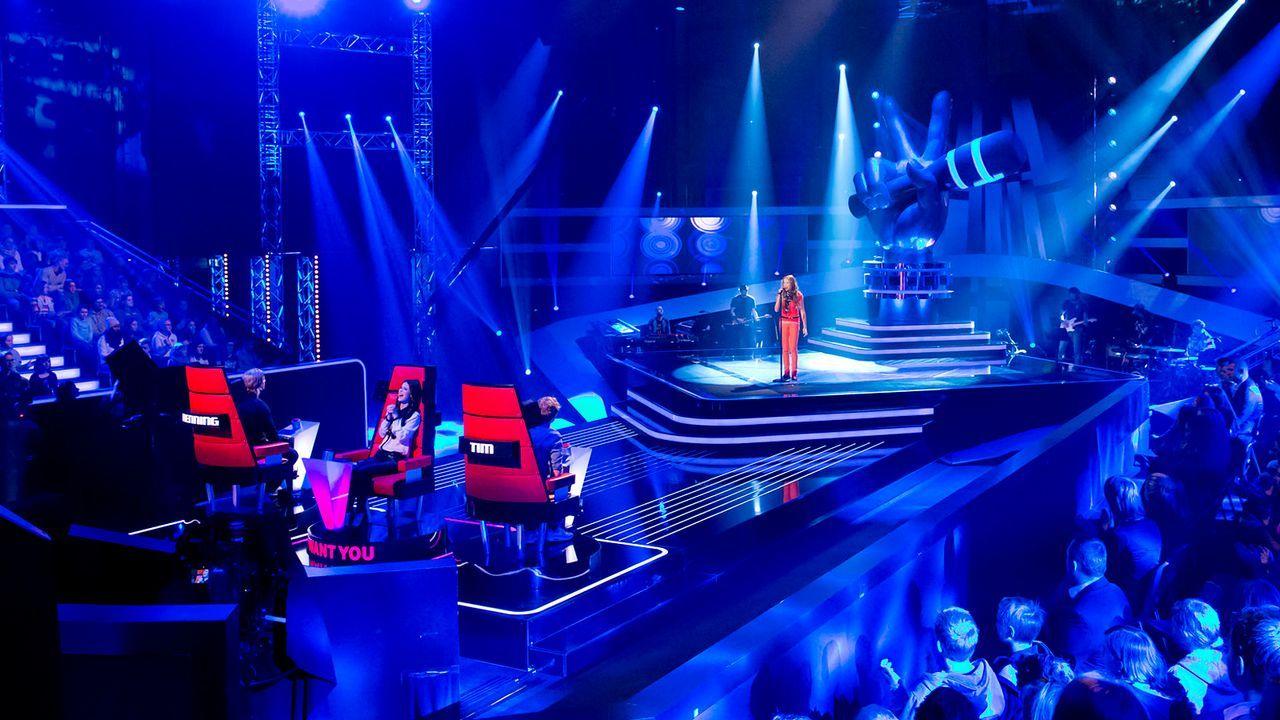 The-Voice-Kids-epi03-danach-Lara-Marie-SAT1 - Bildquelle: SAT.1