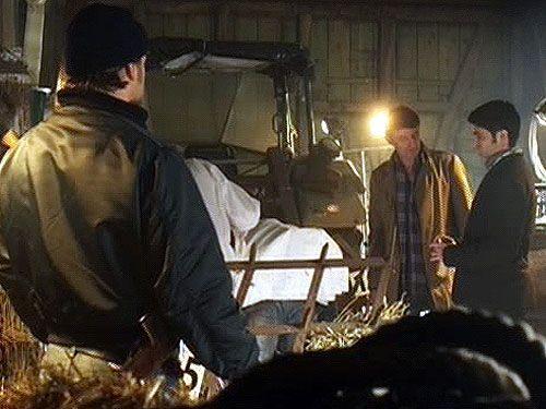 Meisner (Robert Lohr, M.) nimmt die Spuren am Tatort auf. - Bildquelle: Sat1