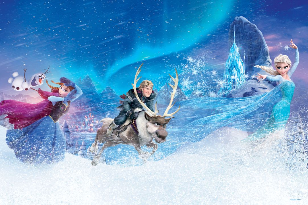Die Eiskönigin - Völlig unverfroren - Artwork - Bildquelle: 2013 Disney. All Rights Reserved