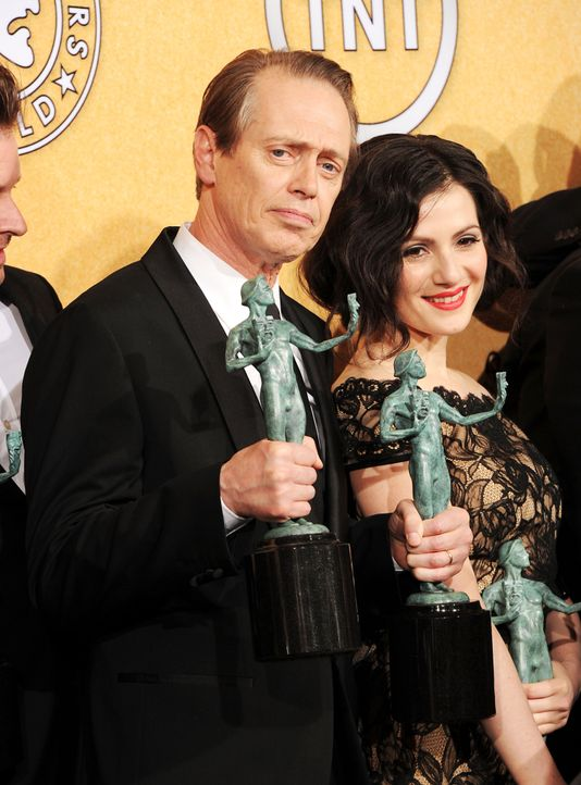 Schauspieler Steve Buscemi und Aleksa Palladino bei den Screen Actors Guild Awards (SAG)  - Bildquelle: getty-AFP