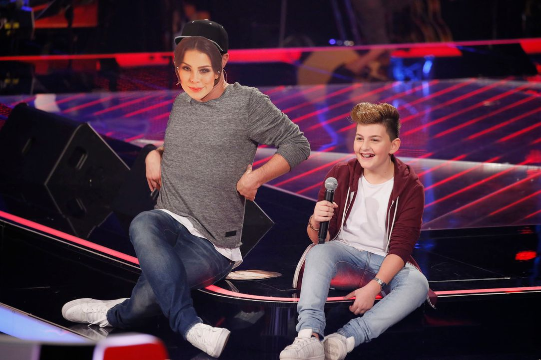 The-Voice-Kids-s04e02-Merdan-SAT1-Richard-Huebner - Bildquelle: © SAT.1/ Richard Hübner