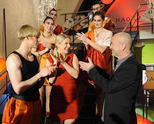 Die Haokan-Kollektion - Bildergalerien - Backstage - Anna und die Liebe - Bildquelle: Sat1